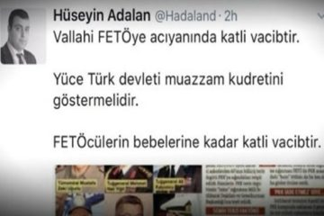 Turkish pro-gov't columnist: Killing Gülen supporters a religious obligation