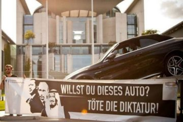 Turkey sends note of protest to Germany over anti-Erdoğan installation