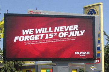 MÜSİAD's ads on Turkey's controversial coup not allowed in US for being 'too political'