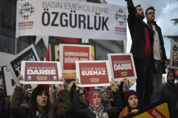 ÇGD report: 318 journalists detained, 103 jailed in Turkey in one year