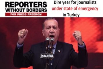 RSF: Turkish journalism in the throes of death, European court last hope