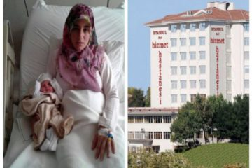 Another woman who just gave birth to be detained by police in Turkey