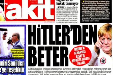 Erdoğanist media goes on Germany-bashing despite of sharp twist by Erdoğan gov't