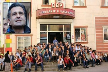 Motion filed against pro-Kurdish HDP deputy for 'sitting in front of party office'