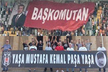 Atatürk banner not allowed into stadium in Turkey's Samsun