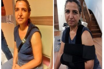 Turkish police break arm of Gezi Park victim's mother while detaining her