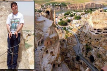 HDP deputy chains himself to protest Turkey's destructions in ancient Hasankeyf town