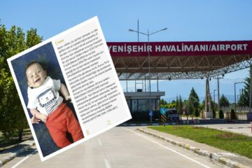 Woman, 5-month-old son under custody after visiting husband in Turkish prison