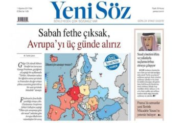Erdoğanist daily claims Turkey would conquer Europe in 3 days