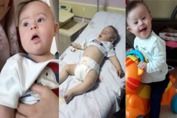 Down Syndrome child accompanies mother in prison as parents jailed over Gülen links