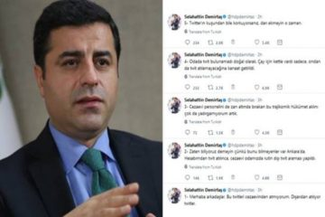 Jailed HDP leader Demirtaş: My prison cell was searched after tweets from my account