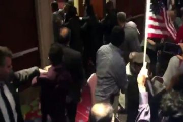 Security guards of Turkey's Erdoğan again beat protesters during NYC speech