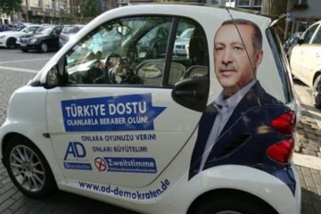 Erdoğan's 'Dombra' echoes in German cities ahead of elections