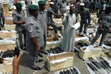 More illegal arms imported from Turkey seized in Nigeria