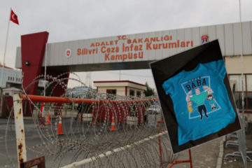8-year-old stripped of 'Super Dad' T-shirt by Turkish authorities during visit to jailed father