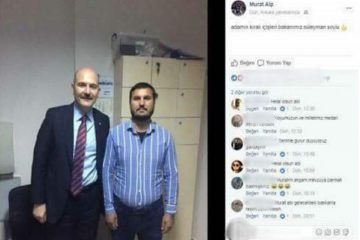 Funeral attacker takes photo with Turkish interior minister at police station