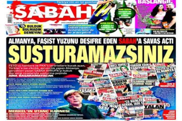 Accounts of Erdoğanist Sabah daily seized in Germany