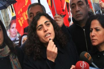Pro-Kurdish DBP co-chair banned from prison sports after showing solidarity with hunger striker educators
