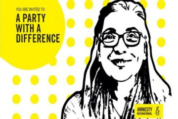 Amnesty organizes a worldwide solidarity day for Turkish HR defender Eser on her birthday