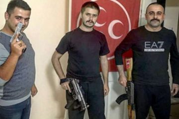 Turkey's Grey Wolves share armed photo to threaten Kurds regarding Kirkuk