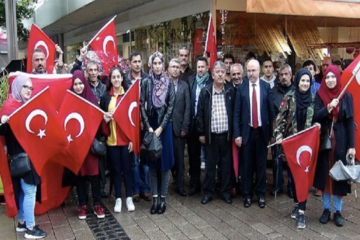 Erdoğanist Turks target inter-cultural dialogue activities of Gülen followers in Germany