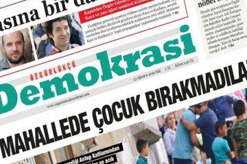 Turkish gov't sentences two Kurdish journalists to ten months in prison