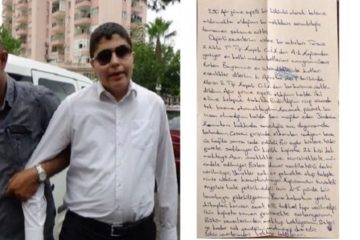 Visually impaired Turkish journalist's letter shows he can barely survive in prison