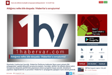 Turkish gov't launches probe against news platform established by jobless Kurdish journalists