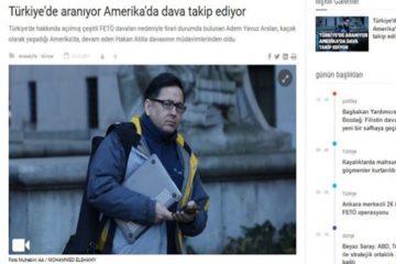 Erdoğan's propaganda machine Anadolu news agency targets Turkish journalist covering Atilla case