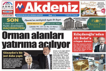 Two more local newspapers shut down by Turkish gov't over alleged affiliation with Gülen movement