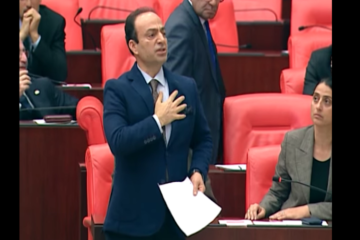 Turkey's Parliament bans Kurdish deputy from two sessions for saying 'Kurdistan'