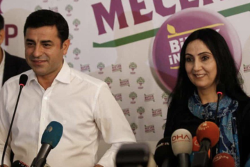 Solidarity statement with HDP's jailed co-chairs: Democracy in Turkey going on trial