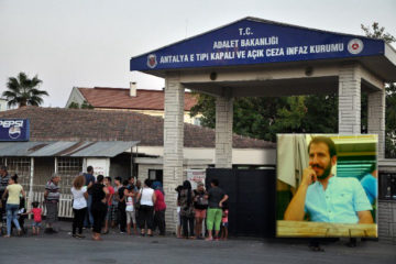 Osman Yakut, a newly married Turkish journalist, behind bars for 17 months