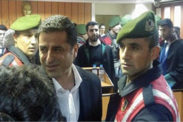 Pro-Kurdish HDP's jailed co-chair Demirtaş appears in court for first time in 14 months
