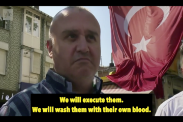 Erdoğanist thug threatens to execute followers of Gülen movement: We will hang them on flagpoles!