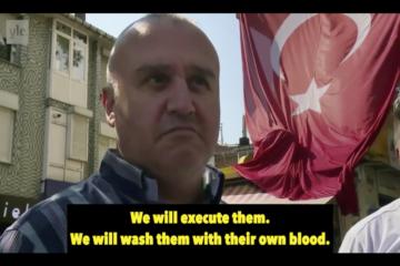 Erdoğanist thug threatens to execute followers of Gülen movement: We will hang them on flagpoles!