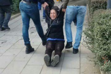 Hunger striking educator Özakça's mother detained by Turkish police in Ankara
