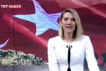 Turkey's TRT probes news presenter for saying Turkish military targeting civilians in Afrin