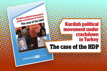 New report highlights crackdown on Kurdish political movement in Turkey