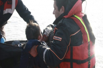 Turkish family still missing after capsized boat incident on Turkish-Greek border