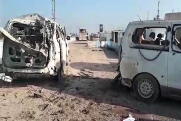 Kurds claim convoy of 30-40 vehicles hit by Turkish army in Syria's Afrin belong to civilians