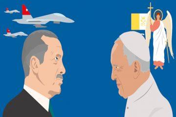 Turkey's Erdoğan and Pope Francis meet in Vatican as Rome locked down in tight security