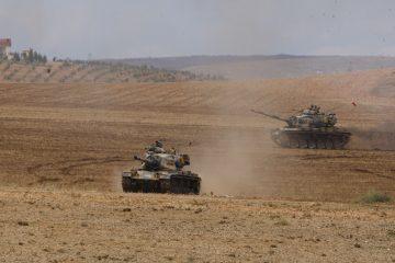 Kurdish militants kill 3 Turkish soldiers near Iraq border as military operations go on in Syria's Afrin