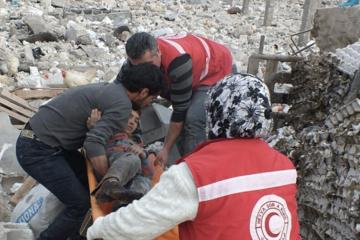 Kurdish Red Crescent says civilians in Afrin under threat of massacre