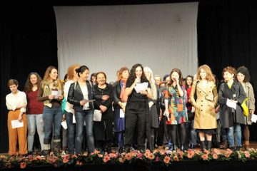 Actresses protest barring of women from play at Turkish Parliament