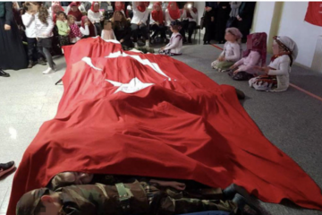 DİTİB parade with Turkish children in uniform with fake guns at mosque in Germany leads to outrage