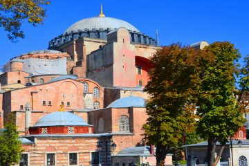 Turkey's Islamist President Erdoğan recites prayer at the Hagia Sophia